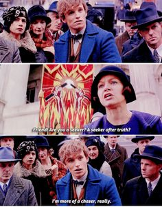 Fantastic Beasts and Where to Find Them - Newt Scamander - Chaser