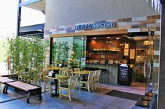 Take a seat outside and enjoy the day from a different perspective! #urbanbistro #perspective #sitoutside