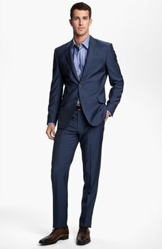 Paul Smith London Wrinkle Free Stretch Wool Travel Suit available at #Nordstrom
