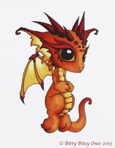 Image result for cute dragon art