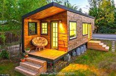 case construite din paleti Wood pallet houses 19