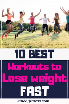 Do you want to lose weight as fat as possible? This are the 10 best workouts to lose weight fast. Get fit and burn fat with those great belly fat burning exercises. Workout To Lose Weight Fast, Weight Loss Workout Plan, Losing Weight Tips, Weight Loss Tips, How To Lose Weight Fast, Extreme Workouts, Easy Workouts, Workout Tips, Workout Plans