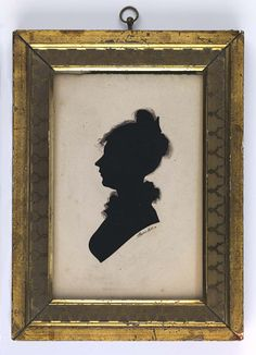 Lady by William Bache / American Art Lady n.d. William Bache Born: Broomsgrove, England 1771 Died: Wellsboro, Pennsylvania 1845 hollow cut paper and ink on card sight 5 7/8 x 3 3/4 in. (14.9 x 9.6 cm) Smithsonian American Art Museum Gift of Mrs. Florence R. Perry