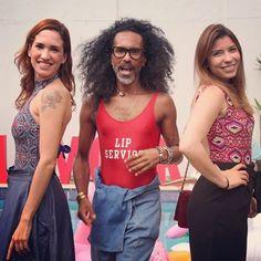Alerta de coincidência fashion na nossa #glamoursummerparty! O maiô está com tudo mesmo longe da praia anota aí! O top maquiador @maxwebertotalbeauty posa entre a nossa editora online @maiaracamargo e @thaiscabas do @westing. Tendência que amamos!  via GLAMOUR BRASIL MAGAZINE OFFICIAL INSTAGRAM - Celebrity  Fashion  Haute Couture  Advertising  Culture  Beauty  Editorial Photography  Magazine Covers  Supermodels  Runway Models