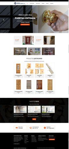 Nietos de Emilio Checa es otra de nuestras últimas creaciones en el mundo de las puertas para un cliente de Valera de Abajo, Cuenca. Os dejamos el enlace: http://www.puertas-de-madera.com
