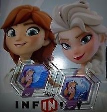 Disney Infinity Power Discs Frozen Terrain & Sky To Make Your Own Frozen Toybox