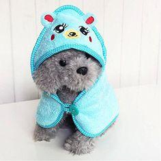 EverTrust(TM) Pet Dog Cute Cartoon Pajamas Dog Bathrobe Multifunction Absorbent Dog Bath Towel Animal Puppy Cat Warm Blanket - http://www.thepuppy.org/evertrusttm-pet-dog-cute-cartoon-pajamas-dog-bathrobe-multifunction-absorbent-dog-bath-towel-animal-puppy-cat-warm-blanket-2/