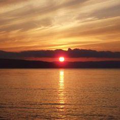 Sunset in BrasD'or, Cape Breton