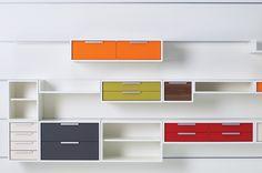 Muunto modular shelving and storage systems