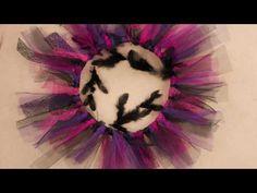 DIY Haloween Couronne déco thème Chica Vampiro - YouTube