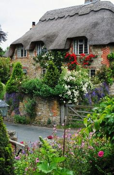 Thatched Cottage with garden