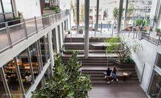 Good food takes center stage at Thonglor's loft-like community mall. the Commons Interior Staircase, Interior Architecture, The Commons Bangkok, Asia City, Ikea Office, New Community, Street Mall, Center Stage, West Palm