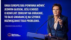 Premier Ewa Kopacz podczas wizyty w Pradze