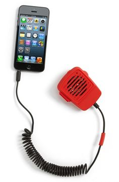 Turn your iPhone into a walkie talkie. Fun!