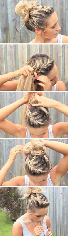 Fantastic Easy DIY Hairstyles for The Beach  The post  Easy DIY Hairstyles for The Beach…  appeared first on  Haircuts and Hairstyles . #diyhairstylesforprom
