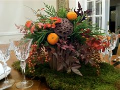 Southern Living Thanksgiving Centerpieces | ... , Garden Lifestyle Expert, The Southern Living Plant Collection Diy Thanksgiving, Thanksgiving Centerpieces, Holiday Wreaths, Holiday Decor, Fall Is Here, Fall Plants, Deck The Halls, Southern Living, Christmas Fun