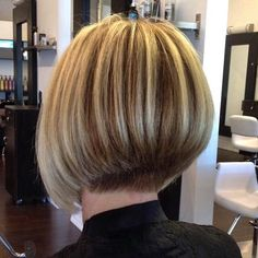 Stacked Bob and color by ME:)