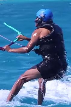 Drop Whatever You're Doing and Watch This Amazing Video of Barack Obama Kitesurfing