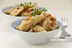 Pierogi z kaszą gryczaną i twarogiem, Pierogi z kaszą, pierogi z twarogiem, domowe pierogi, Dumplings #food http://najsmaczniejsze.pl