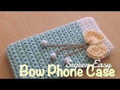 Tutorial #72: Cómo tejer una funda de celular a Crochet ~ CTejidas [Crochet y Dos Agujas]
