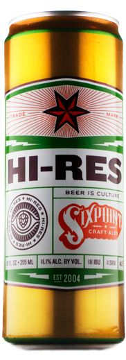 Hi-Res manifests the desire to see hops in sharp relief, with an ever-increasing clarity. While maintaining an essential balance of flavor, it depicts hops in a duality- both on the grand stage and at their very essence.