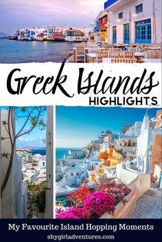 #Greece #mykonos #paros #santorini #islandhopping #greekislands