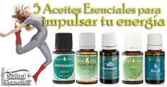 5 Aceites Esenciales para impulsar tu energía