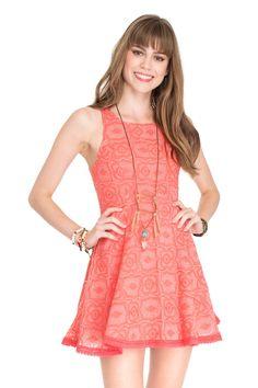 vestido tule bordado - Vestidos | Dress to