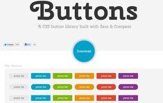Buttons, una librería CSS para crear todo tipo de botones