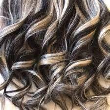 Jet black hair with platinum blonde highlights hair extensions 4 jet black hair with platinum blonde highlights hair extensions pmusecretfo Images