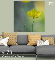 Boterbloem Sofa, Couch, Love Seat, Canvas, Furniture, Home Decor, Art, Tela, Art Background