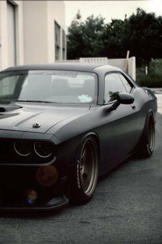 Matte black looks good on this car!!