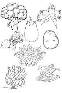 Vegetable Coloring Pages, Colouring Pages, Applique Patterns, Applique Quilts, Fruits And Vegetables Pictures, My Busy Books, Family Worksheet, Preschool Colors, Edible Arrangements