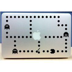Pacman Mac decal