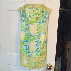 Lilly Pulitzer dress Strapless Lilly dress in perfect condition. Only worn once to an event Lilly Pulitzer Dresses