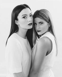 Natasha & Elise ✨ #natashanegovanlis #elisebauman