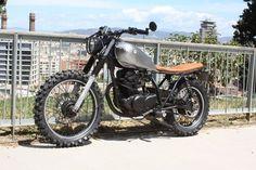 Yamaha Sr 250 Scrambler by Molitery Design