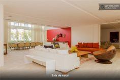 Apartamento jundiaí salas de estar modernas por designer de interiores e paisagista iara kílaris moderno Outdoor Furniture Sets, Outdoor Decor, Bed, Home Decor, Outdoor Furniture, Design Ideas, House Decorations, Modern Man, Living Room Modern