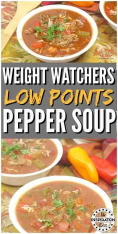 Stuffed pepper soup is something Weight Watchers members will love! Made with delicious zero-point veggies, this low carb stuffed pepper soup is the perfect way to stick to your diet while loving what you eat. Quick Family Dinners, Easy Weeknight Meals, Easy Healthy Dinners, Weight Watchers Soup, Weight Watcher Dinners, Low Carb Stuffed Peppers, Stuffed Pepper Soup, Low Carb Soup Recipes, Dinner Recipes