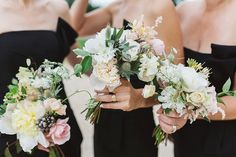 A Tulle Gown and Bridesmaids in Black for an Elegant Travel Inspired Wedding   Love My Dress® UK Wedding Blog