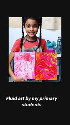 Mixed Media Collage, Mixed Media Canvas, Middle School Art, Art School, 3rd Grade Art, Pour Painting, Art Day, Art Lessons, Art Projects