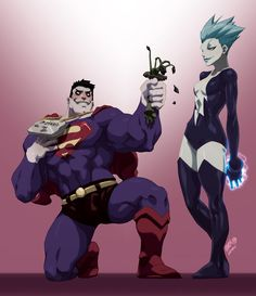 bizarro superman | Bizarramour // featuring Bizarro Superman & Livewire // digital ...