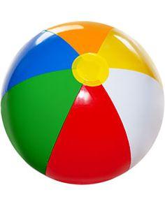Inflatable Beach Ball - 26cm hight