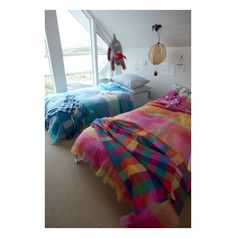 The Circus Lambswool Throw Has An Array Of Colours And Is Bright Vibrant Our