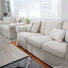 I Have Always Had White Ektorp Sofa Covers. I Love My White Covers, UNTIL