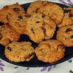 Gluténmentes aszalvány-zabkeksz Diabetic Recipes, Low Carb Recipes, Cooking Recipes, Healthy Recipes, Diet Desserts, Paleo Dessert, Paleo Vegan Diet, Gm Diet, Health Eating