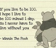 Inspiring picture cute, piglet, pooh, quote, sweet. Resolution: 400x303. Find the picture to your taste!