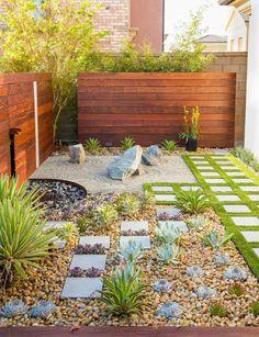 créer un jardin zen plantes design japonais