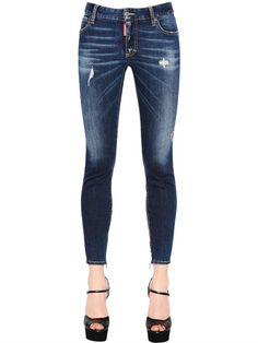 BLACK GOLD Stretch denim Slim Jeans 14 cm Fall/winterDiesel H3qXWM0cy