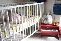 miss james of bleubird vintage's beautiful nursery for her beautiful baby gemma.